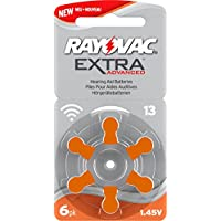 Rayovac Extra Advanced Batteries, size 13, 5 packets (30 cells)