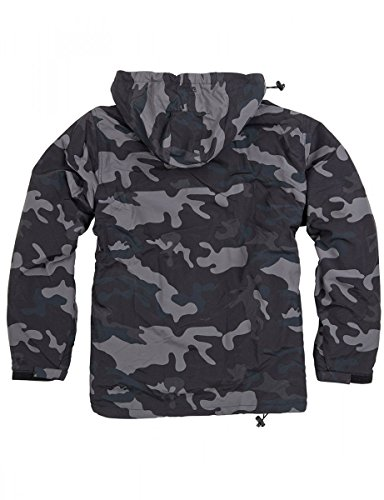 Surplus Herren Jacke Windbreaker Black Camo