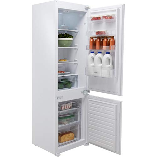 Baumatic BRCIS3180E Integrated 70/30 Fridge Freezer with Sliding Door Fixing Kit - White