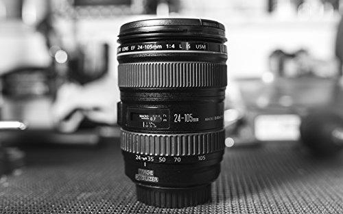 Canon EF 24-105mm 1:4.0 L IS USM Objektiv (77mm Filtergewinde, Original Handelsverpackung)