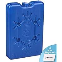 Acumulador de frío (2 unidades de 200 g, para congelación rápida, 12 h de potencia de refrigeración para neveras y neveras, azul con acumulador de frío gratis