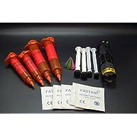 Olax 30ml Dünn, Licht Fliegenbinden Kleber, Leim Kit mit Zoombare UV Taschenlampe preisvergleich bei billige-tabletten.eu