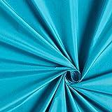 Fabulous Fabrics Mikrofaser TAFT – türkis — Meterware ab 0,5m — zum Nähen von Jacken, Hosen und Röcken