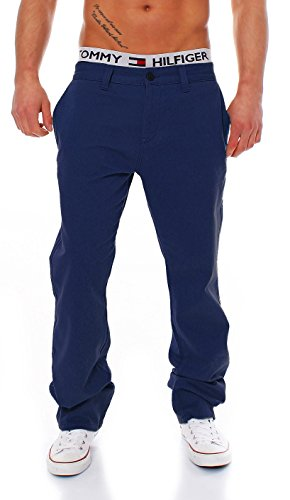 Big Seven Evan Chino Pant Regular Fit Herren Hose, Hosengröße:W44/L32, Farbe:Navy Blue Fit-chino