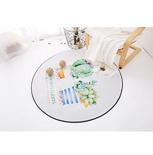 Runde Teppich Teppich Matten Teppich Decke Moderne Schlafzimmer Wohnzimmer Sofa Tisch Nachttisch Teppiche,#2,Diameter60cm -