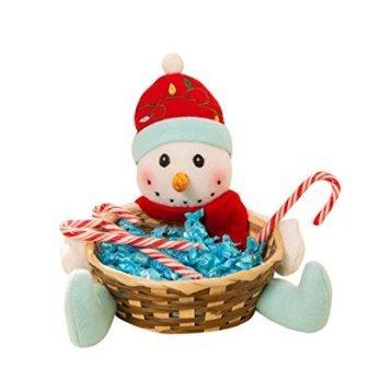 Caomoa cestini di caramelle di natale barattolo di caramelle cesto di caramelle cesto regalo decorazioni natalizie ornamenti desktop forniture (14)