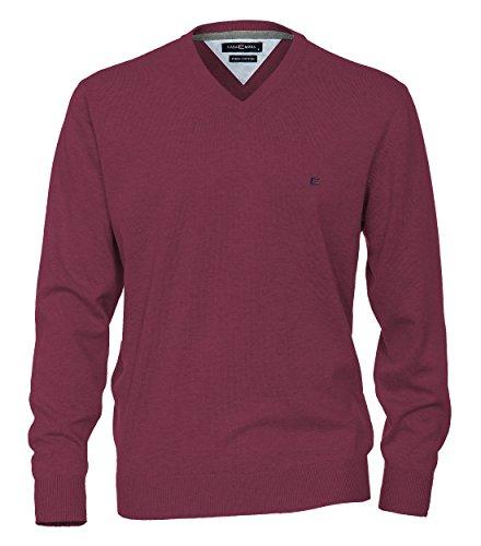 Casa Moda - Herren Pullover mit V-Ausschnitt in verschiedenen Farben (004130) Rot (436)