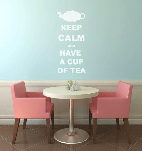keep-calm-and-have-a-cup-of-tea-wandtattoo-kuche-diner-aufkleber-cafe-goldfarben-matt