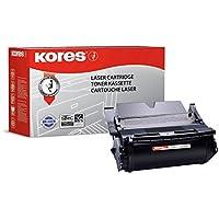 Kores-Cartuccia Toner per stampanti Optra T 520, modello, 522, 20,000 pagine, colore: nero