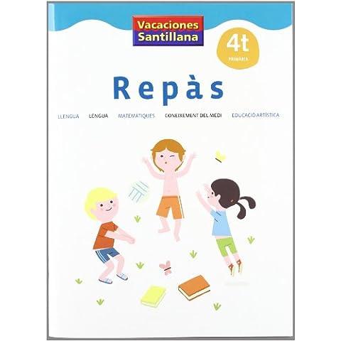 VACACIONES SANTILLANA 4 PRIMARIA REPAS