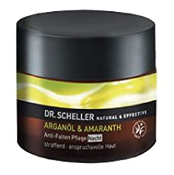 Dr. Scheller Argan Oil and Amaranth Anti Wrinkle Nursing Night, 1er Pack (1 x 50 ml)