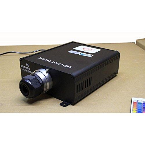 Generador luz 60W fibra óptica piscina, Cielo estrellado