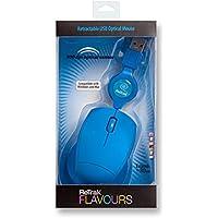 Retrak USB retrattile da viaggio Laser Mouse per PC, PC/Mac, 2-modi