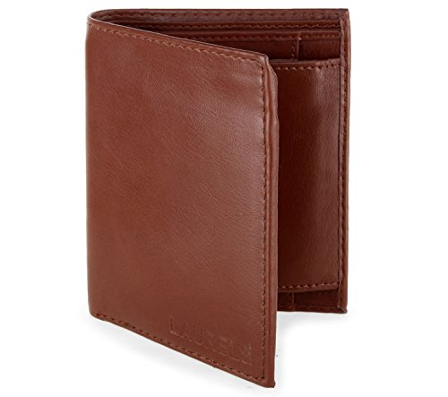 Laurels Men's Wallet Tan-BK-08  available at amazon for Rs.149