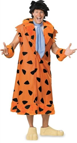 Official X-Large Fred Flintstone 1994 Movie Fancy Dress Costume