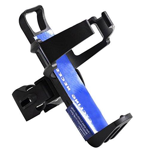 Centtechi Fahrrad Flaschenhalter Einstellbare,360 Grad Drehbar Kunststoff Stahl for Mountain Bike BMX Road Bike (Schwarz) -