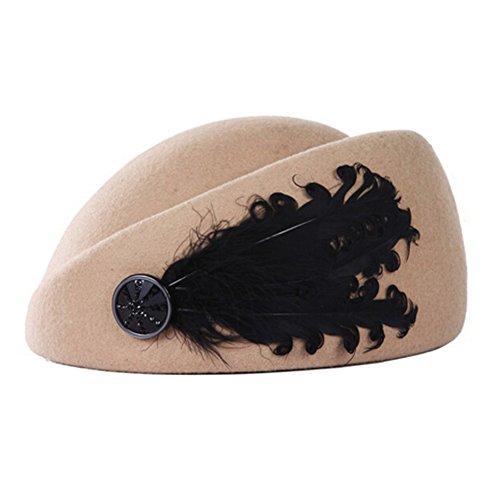 Blancho Classique Beret Chapeau Britannique Chapeau de Style de la Femme