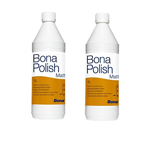 Bona 2x Polish Matt 1 Liter (Bona Wood Floor)