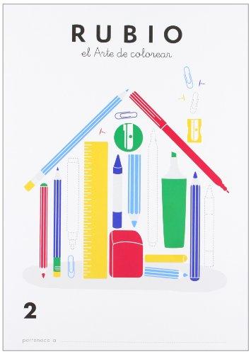 Rubio, el arte de colorear 2 por UNKNOWN