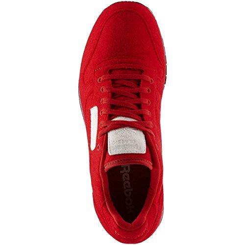 Sapatos Reebok De Couro Limpas Homens Sapatilha Vf Clássica Vermelhos 0CPqwzRC