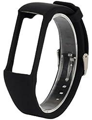 Omiky® Art und Weise 2017 echtes Silikon-Gummi-Uhr-Band-Handgelenk-Bügel für Polar A360 intelligente Uhr