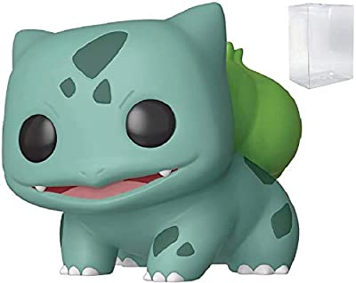 Juegos Funko: Pokemon - Bulbasaur Pop! Figura de Vinilo (Incluye Estuche Protector Pop Box Compatible) de Funko Games