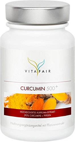 Curcuma | 1000mg pro Tagesdosis | 90 Kapseln | 95% Curcumin = 950mg | Hochdosierte Kurkuma Kapseln mit Curcuminoide & Piperin | Vegan | Ohne Magnesiumstearat | Made in Germany