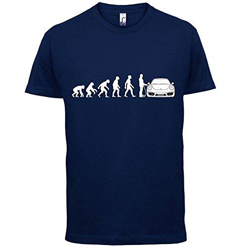 evolution-de-lhomme-porsche-911-homme-t-shirt-bleu-marine-m