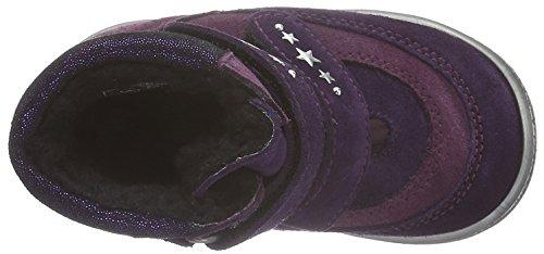 Richter Kinderschuhe Star, Bottes courtes avec doublure chaude fille Violet - Violett (Blackber/eggpla/Plum 7503)