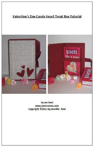 Valentine Candy Crafts (Valentine's Day Candy Heart Treat Box Tutorial (English Edition))