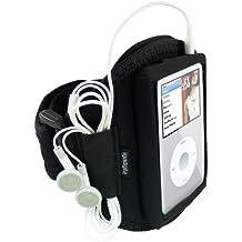 igadgitz WL-TKRY-Q9YB igadgitz Brazalete Armband Sport Deporte Funda para Apple iPod Classic 80/120/160GB - Negro