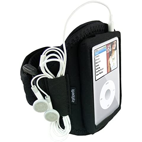 iGadgitz WL-TKRY - Banda para el brazo para Apple iPod Classic 80/120/160GB (resistente al agua), color