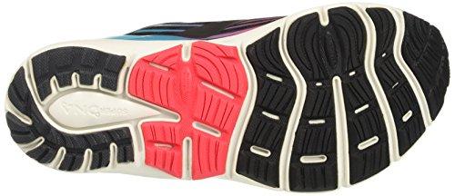 Brooks Transcend 4, Chaussures de Gymnastique Femme Noir (Black/diva Pink/teal Victory)