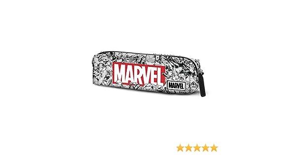Karactermania Marvel Brick-astuccio Portatutto Quadrato HS Trousses Multicolour 22 cm Multicolore