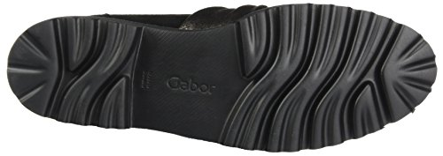 Gabor Fashion, Derby Donna Nero (Schwarz Glitter)