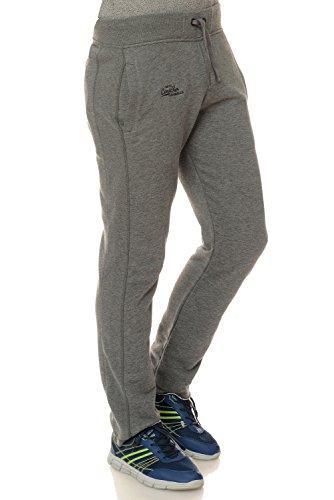 M.Conte Men Sweat Pants Uomo Jogging Pantaloni in Felpa Rocco grigio XXXL