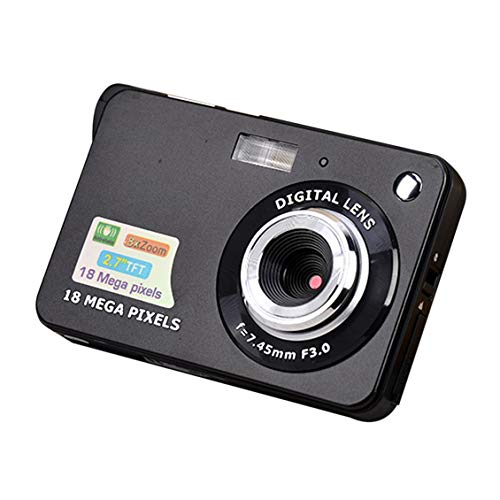 ForceSthrength 2,7-Zoll-TFT-LCD-Display 18MP 720P 8-Fach Zoom HD Anti-Shake-Digitalkamera Zoom Lcd Flash