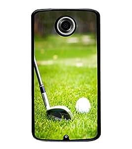 Fuson Designer Back Case Cover for Motorola Nexus 6 :: Motorola Nexus X :: Motorola Moto X Pro :: Google Nexus 6 (golf golfball game Love Player Champion)