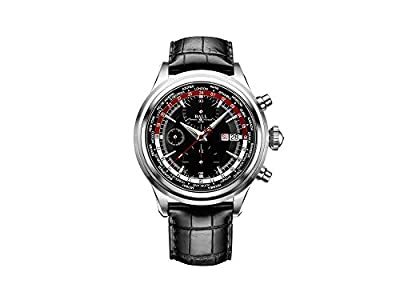 Ball Trainmaster Worldtime Chronograph Automatic Watch, Ball RR1502, 42mm