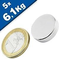 Hartferrit Magnetsysteme mit Gewinde-Buchse Flachgreifer Magnet Topfmagnet mit Gewindebuchse Gr/ö/ßen:/Ø 32mm 8kg Haftkraf Haftkraft: bis 130kg Montagemagnete Befestigungsmagnete Ferrit HF Durchmesser: /Ø 10-125mm M4