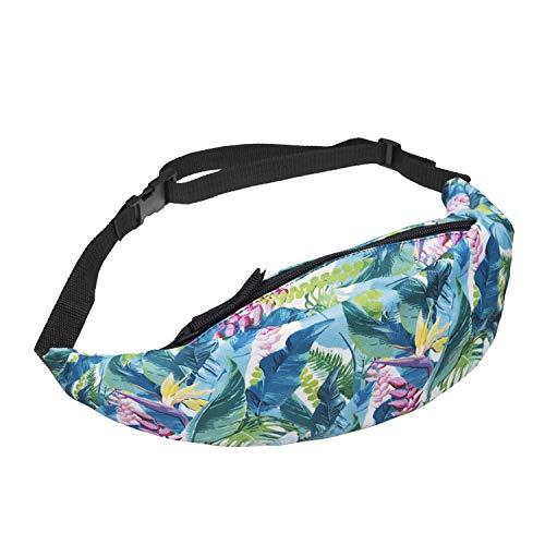 HAOLIEQUAN Bird of Paradise 3D Digital Printing Handbags Ladies Fashion Messenger Bag Sports Pockets