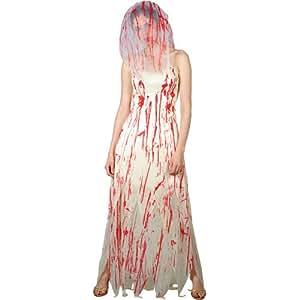 zombie braut horror halloween fasching verkleidung f r frauen kost m 42 44 spielzeug. Black Bedroom Furniture Sets. Home Design Ideas