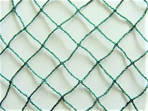 Filet de protection contre les oiseaux, couleur vert, maille 25mm, utilisable plusieurs années, de différentes tailles!