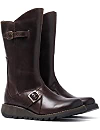 b61eb0dd460 Fly London Mes 2 Dark-Brown Womens Footwear Boots
