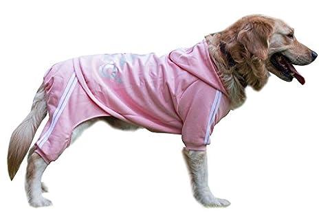 Scheppend Adidog Large Dog Hoodies Sweatshirt Pet Winter Coat Sports