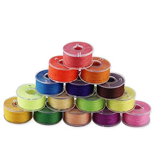 JTDEAL Hilos Maquina Coser 36 Colores