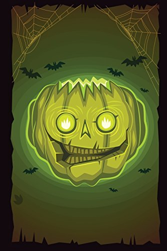 Zombie Pumpkinhead Grid Notebook: 150 page Grid Notebook Journal Diary (Spookies 150 Grid Notebooks, Band 70)