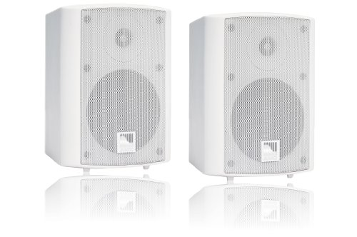 Speaker-schalter Remote (AMC POWER BOX 5 RAL9016 aktives Stereo Lautsprecherboxen System (2-Wege) weiß)