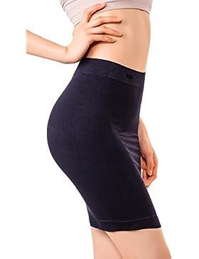 MD Ropa de forma de mujer cintura de nylon de alta talle para firme control de la panza, moldeador de cuerpo media...