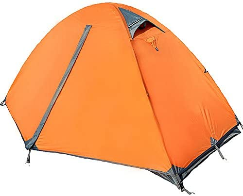 Miao Outdoor campeggio doppia porta a doppio strato strato strato antivento pioggia tende, arancia B0746546F6 Parent | Pacchetti Alla Moda E Attraente  | Acquisti  bfb508